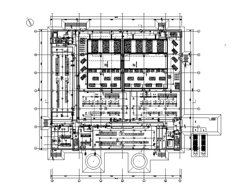 湖南技术中心机房智能化初步设计图