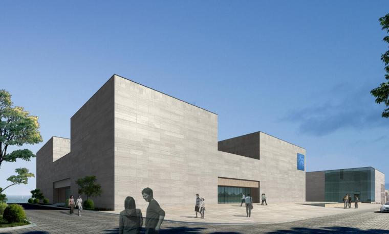 [山东]海尔研究中心企业办公楼建筑方案设计(现代风格|PDF+38页)-效果一