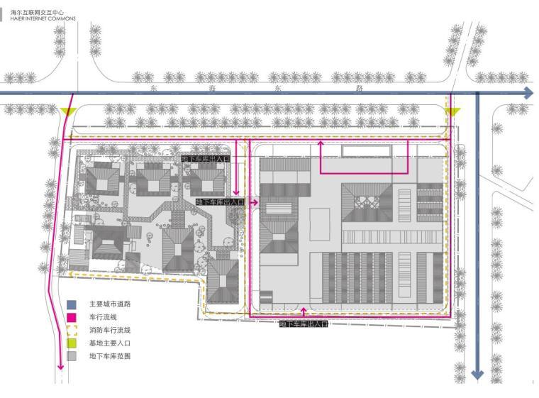 [山东]海尔研究中心企业办公楼建筑方案设计(现代风格|PDF+38页)-设计分析