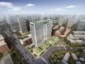 [北京]太阳宫建筑模型设计(现代风格)
