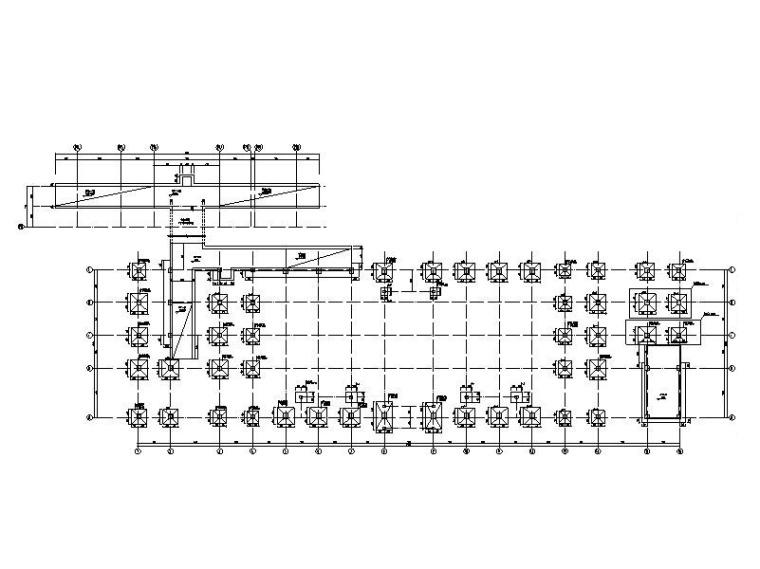 火车站站房及雨棚结构初步设计施工图2017