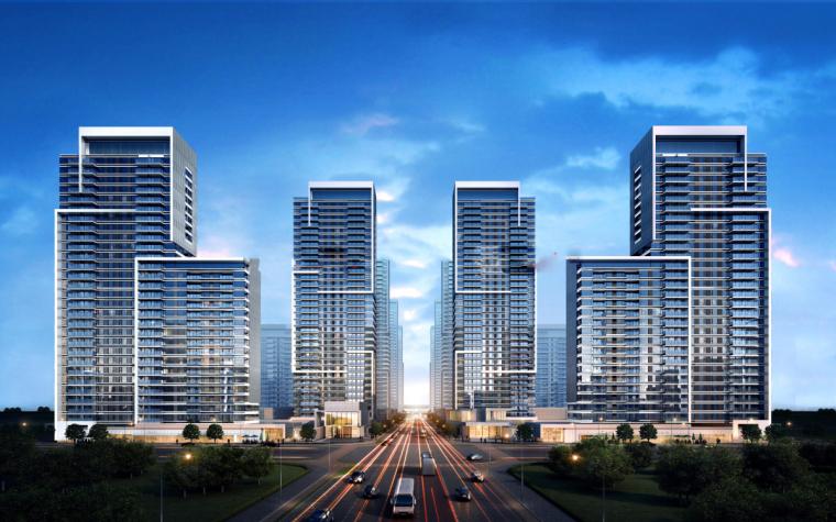 [山东]济南鲁能张马片区现代高层建筑设计(现代风格)-山东济南鲁能张马片区 (7)