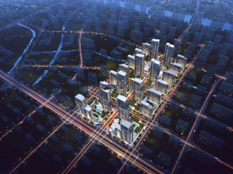 [山东]济南鲁能张马片区现代高层建筑设计(现代风格)-山东济南鲁能张马片区 (6)