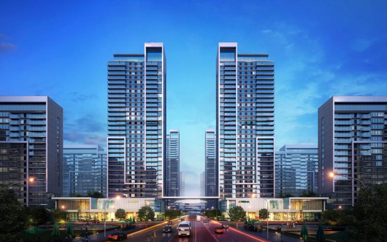 [山东]济南鲁能张马片区现代高层建筑设计(现代风格)-山东济南鲁能张马片区 (8)