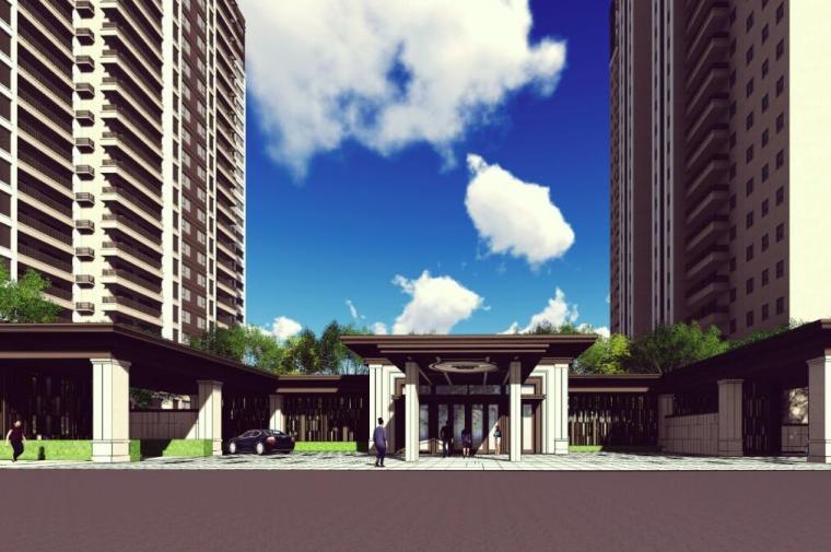 [广东]新中式风格康桥香溪郡景观深化方案设计(PDF+138页)
