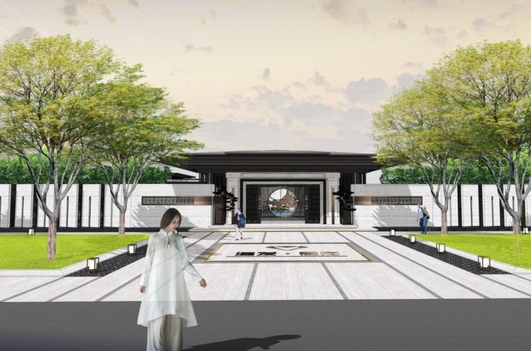[上海]中式风格御府花园景观示范区概念文本(PDF+93页)