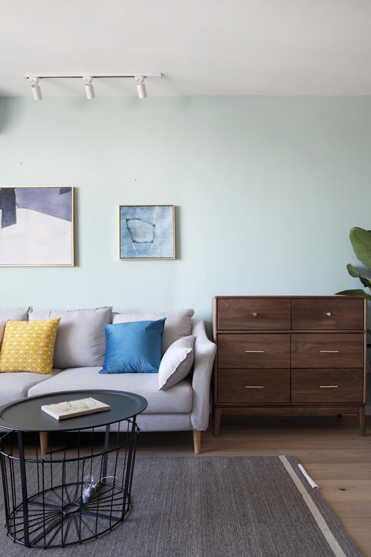 [原创作品]用动线做出8米长的三段式储物墙,满屋的原木元素还可-11