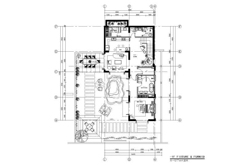 CCD-海口华墅6户型南加州风格样板间丨效果图+硬装方案+施工图+物料+软装方案