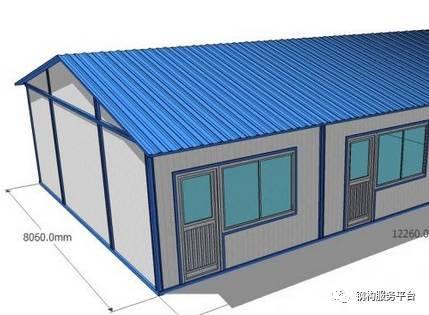 钢结构-----彩钢板安装