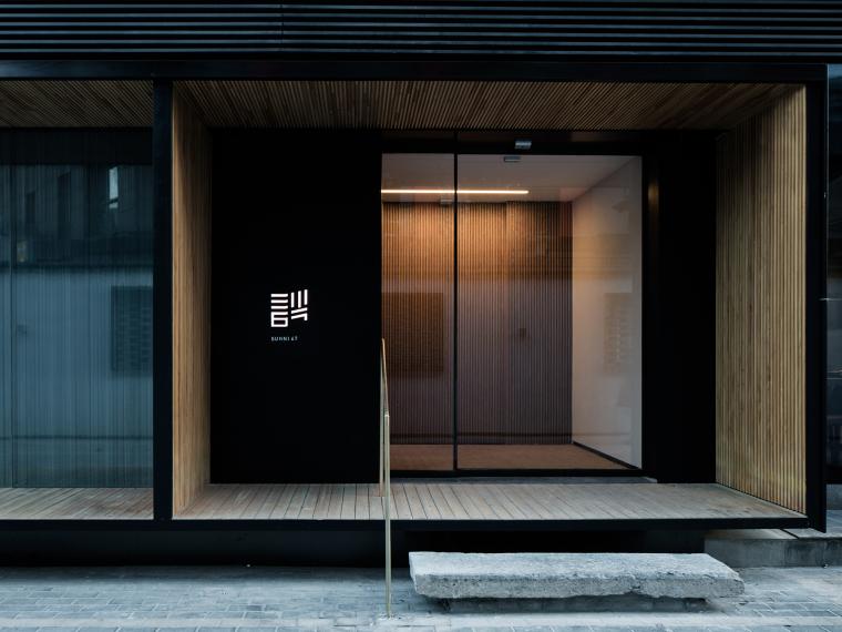 [北京]三里六七餐厅左通右达建筑工作室丨官方摄影+JPG平面-餐厅正立面