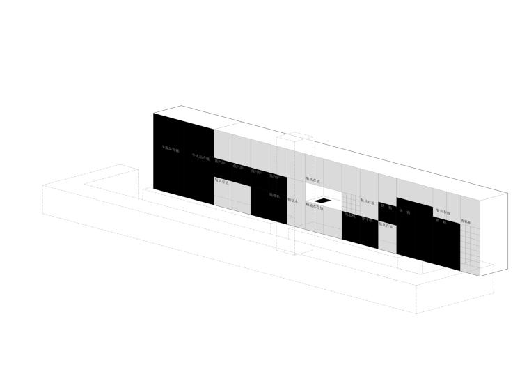 [北京]三里六七餐厅左通右达建筑工作室丨官方摄影+JPG平面-厨房结构图4