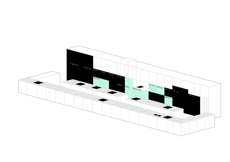 [北京]三里六七餐厅左通右达建筑工作室丨官方摄影+JPG平面-厨房结构图6
