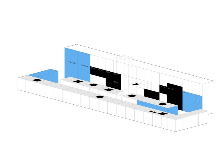 [北京]三里六七餐厅左通右达建筑工作室丨官方摄影+JPG平面-厨房结构图7