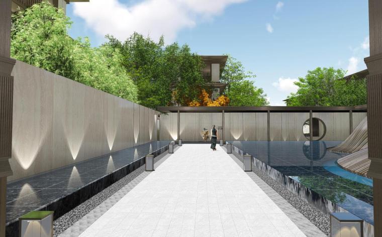 [重庆]中式风格山居九重境别墅展示区方案设计(PDF+88页)