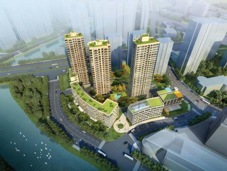 苏河洲际中心项目建筑结构扩初图(含装配式住宅)