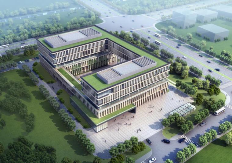 [上海]现代风格企业办公楼建筑方案设计(PDF+76页)