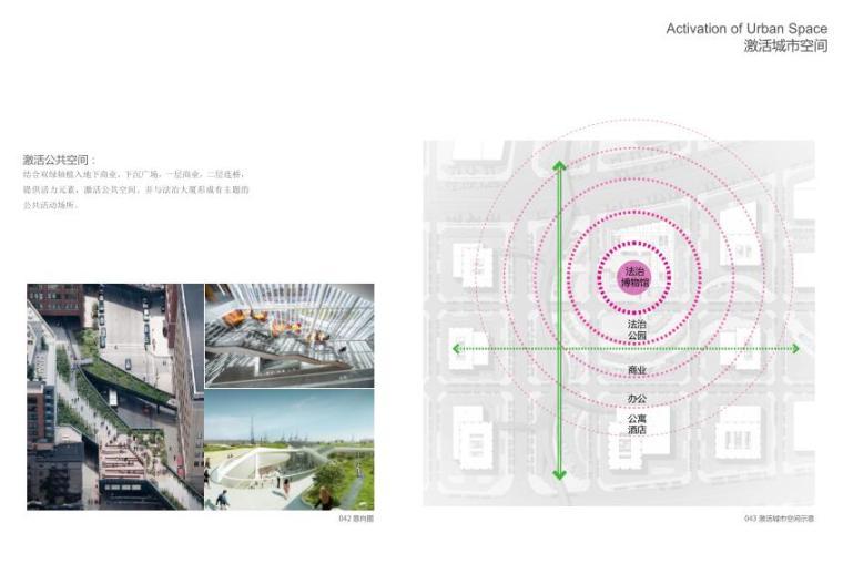 [广东]现代风格大厦建筑方案文本(PDF+46页)-激活城市空间