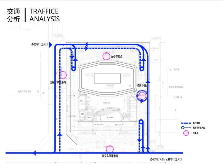 [陕西]西安竹园企业总部大楼建筑方案文本(现代风格|PDF+85页)-交通