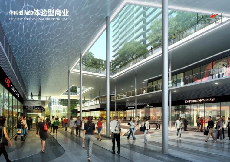[广东]立润现代风格富达商业广场建筑方案文本设计(PDF+130页)-体验型商业