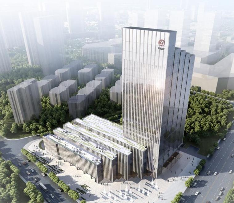 [江西]现代风格企业办公楼建筑方案文本设计