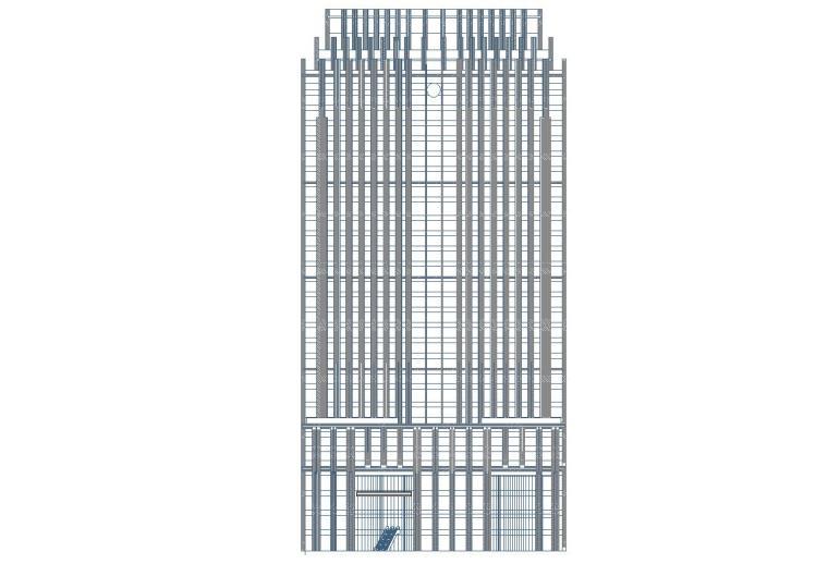[陕西]西安竹园企业总部大楼建筑施工图设计(CAD)