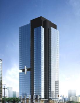 [论文]雪莲大厦高层混合结构设计