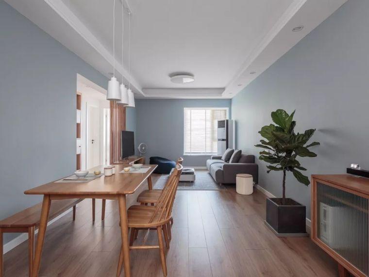 96㎡日式MUJI风3室2厅,满足了轻松惬意的居住需求