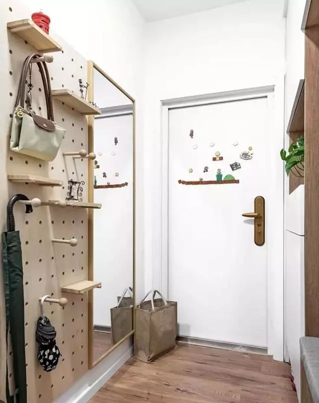 精致玄关设计,打造有颜值又实用居家的入户玄关