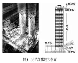 200~300米超高层结构布置案例集锦_7