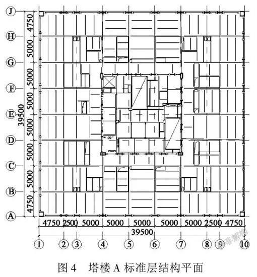 200~300米超高层结构布置案例集锦_16