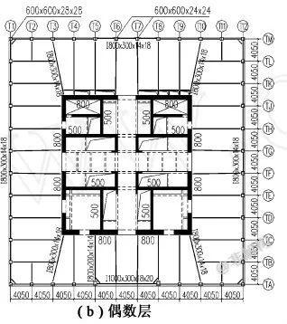 200~300米超高层结构布置案例集锦_9