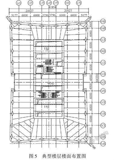 200~300米超高层结构布置案例集锦_12