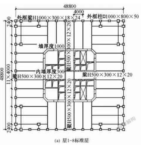200~300米超高层结构布置案例集锦_30