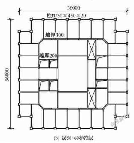 200~300米超高层结构布置案例集锦_31