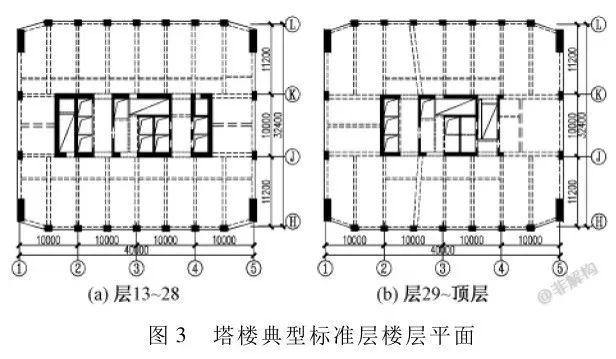 200~300米超高层结构布置案例集锦_53