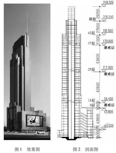 200~300米超高层结构布置案例集锦_63