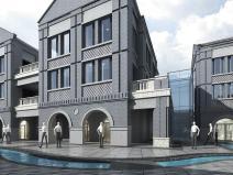 [山东]绿地济南西十六里河商业sbf123胜博发娱乐模型设计(民国风风格)