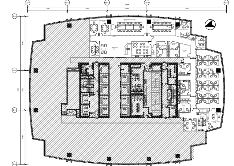 上海办公室机电装修工程施工图(2016PDF)