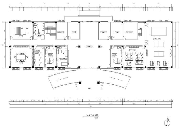 [江苏]南京装饰联合-73608部队综合作业楼CAD施工图+效果图