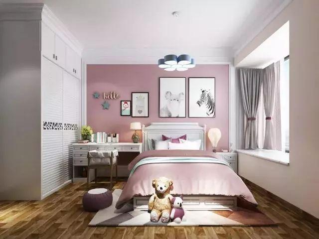 儿童房的装修,应兼具美观与实用,这些设计很不错!_2
