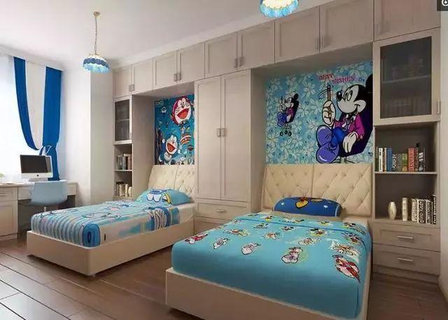 儿童房的装修,应兼具美观与实用,这些设计很不错!_5