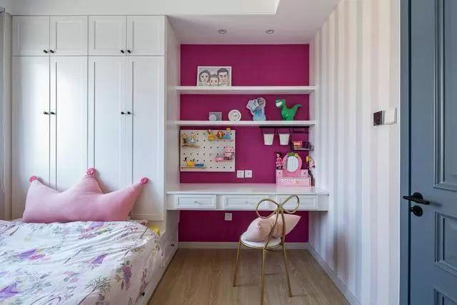 儿童房的装修,应兼具美观与实用,这些设计很不错!_3