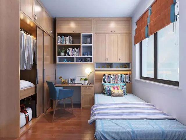 儿童房的装修,应兼具美观与实用,这些设计很不错!_7