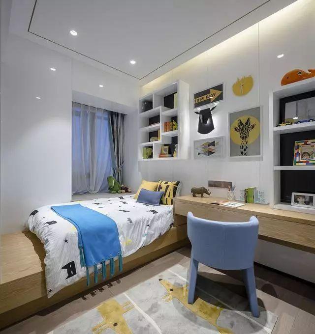 儿童房的装修,应兼具美观与实用,这些设计很不错!_10