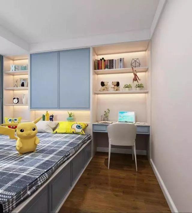 儿童房的装修,应兼具美观与实用,这些设计很不错!_8