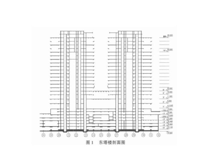 [论文]北京财源国际中心东塔楼结构设计