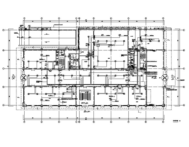 北京四层酒店强弱电消防施工图(2016,CAD+PDF)