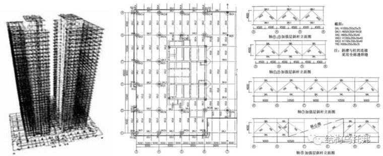 100~200米超高层结构布置案例集锦