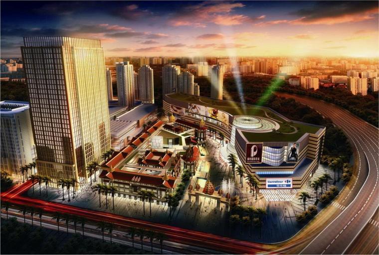 [论文]昆明南亚风情第一城超高层办公楼结构设计_1