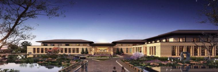 [河南]郑州凤凰岛国宾馆建筑模型设计(中式风格)-知名地产郑州凤凰岛国宾馆 中式最终 (4)